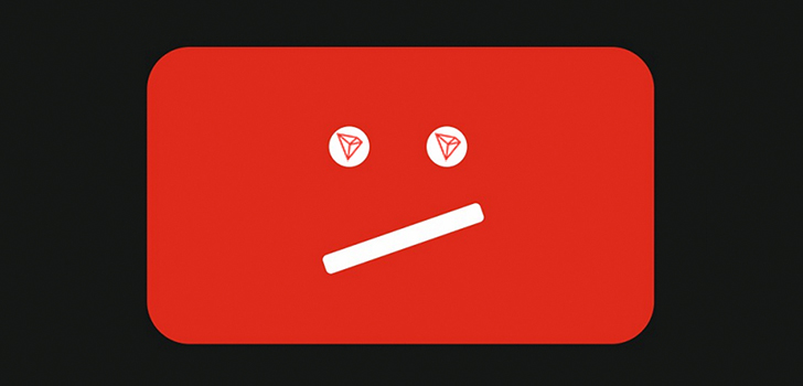 TRON предлагает свою помощь YouTube