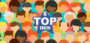 ТОП-6 токенов ERC-20 по количеству холдеров
