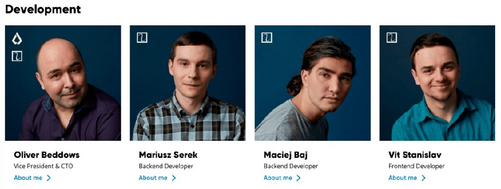 Оливер Беддоуз и основная команда разработчиков Lisk