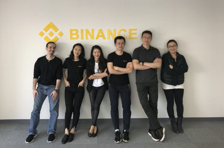 Команда Binance